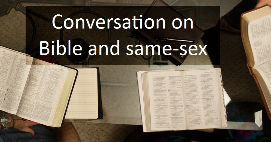 conversation around Bibles
